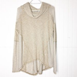 Free People   Slouchy Cowl Neck Sweater
